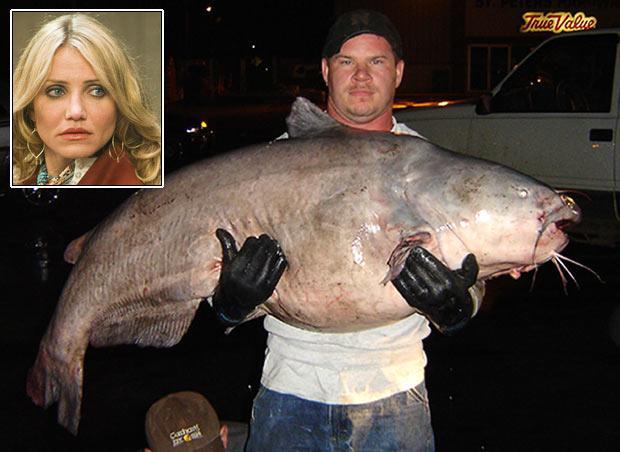 Tim Pruitt ir noķēris samu... Autors: bizonis1 Lielas zivis = Slavenības