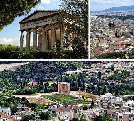 Atēnas Grieķijas galvaspilsēta... Autors: Fosilija Pasaules skaistākās senās pilsētas