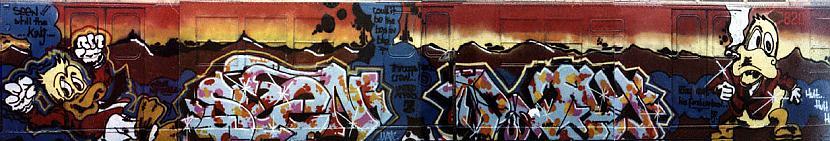 Autors: TRUESKOOL Old school graffiti