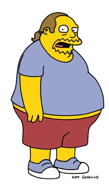 Comic Book Guy īstais vārds ir... Autors: Fosilija Daži fakti par Simpsoniem.