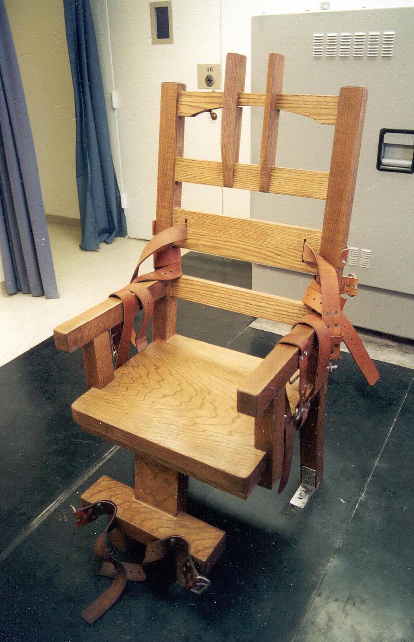 Elektrisko krēslu izgudroja... Autors: Fosilija Interesanti fakti.