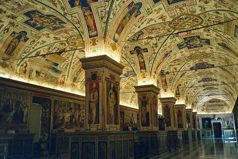 Vatikāna slepenie arhīvi  kuri... Autors: Hope 10 vietas pasaulē, kur tu nevari tikt iekšā.