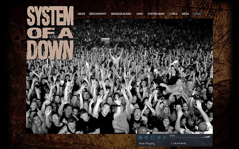 SYSTEM OF A DOWN... Autors: Liver Mūziķu / muzikālo apvienību mājas lapas