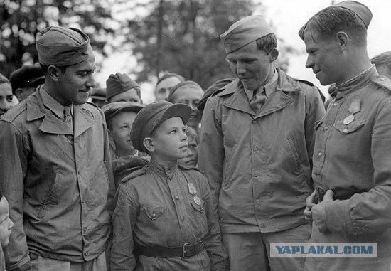 Polkas dēls kuram tikai 10... Autors: LAGERZ Bērni 2 pasaules kara laikā