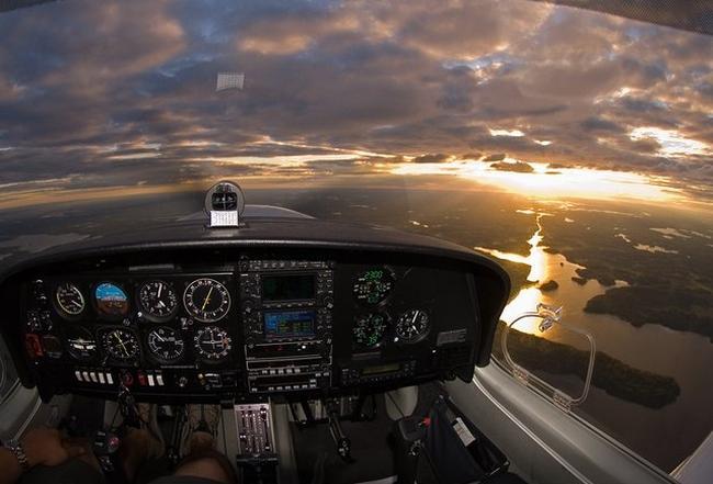 Diamond DA40D Diamond Star TDI... Autors: YOSLOWAG Aviācijas vadības paneļi.