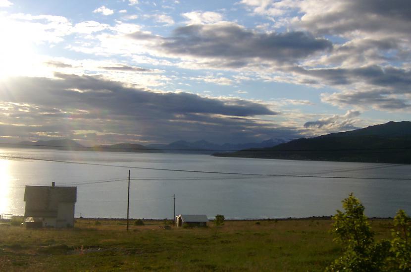 Skats uz fjordu no kempinga Autors: aivarsm Manas atmiņas par Skandināviju