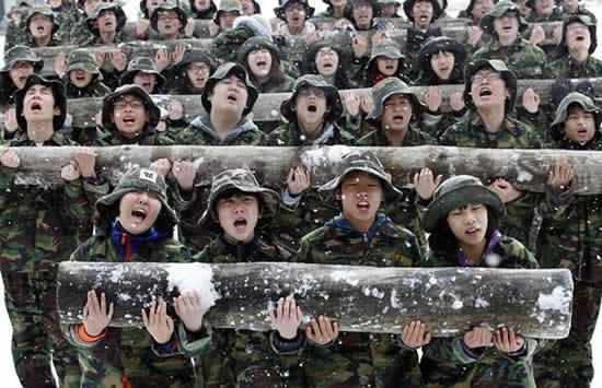 Autors: chesterfields Korejiešu ziemas nometne