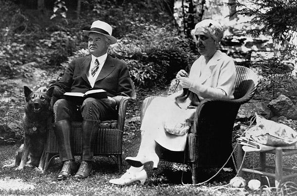 Herberts Hūvers un vācu aitu... Autors: aisse Valsts pirmie suņi