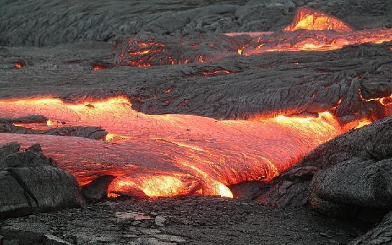 Lavas temperatūra ir 650 līdz... Autors: MrFreeman Volcanos