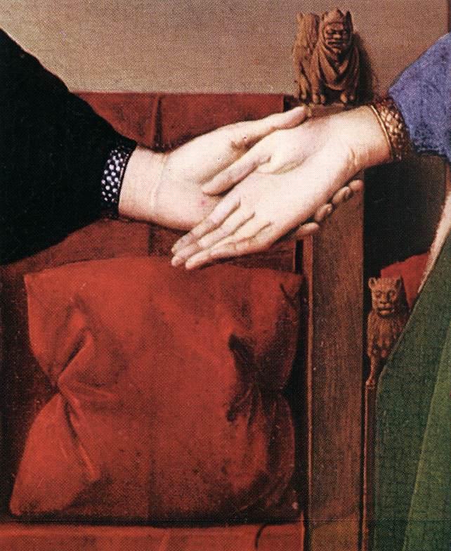 Sadotās rokas jau atkal norāda... Autors: historian Arnolfīni laulības