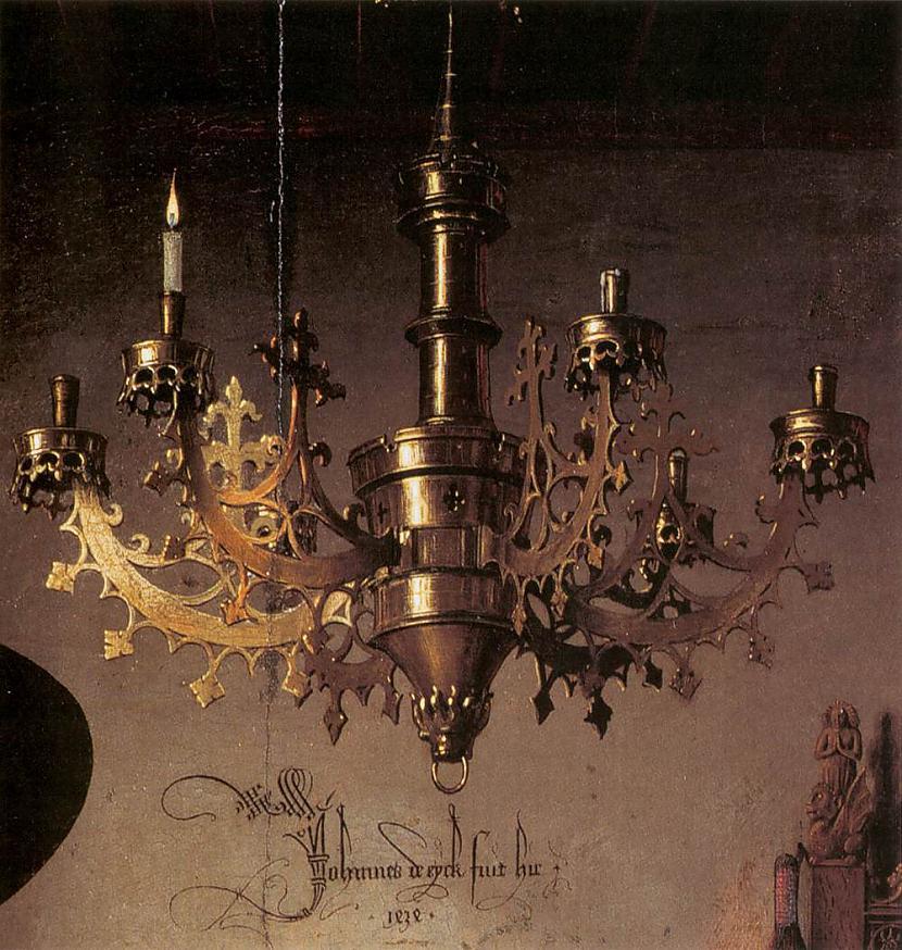 Vientuļā sveces liesma misiņa... Autors: historian Arnolfīni laulības