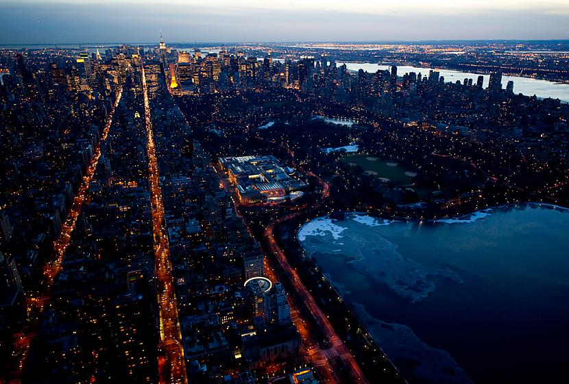 Central Park Central Park... Autors: Samaara NYC and Las Vegas from above, at night.