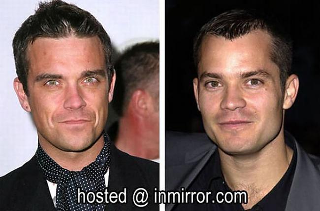 Robbie Williams vs Timothy... Autors: FANS007 Paskat, Cik Līdzīgi! :D