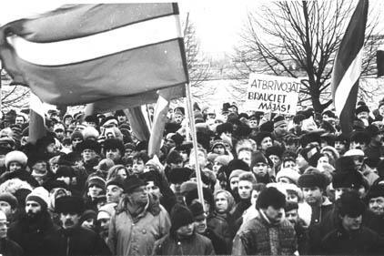 Autors: A N I M A L Latvijas Trešā atmoda (1987 - 1991)