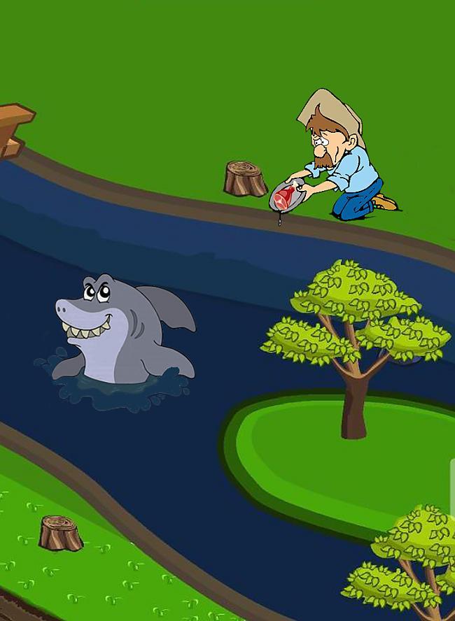 Audzējam zivtiņas Autors: Fosilija Šausmas kas notiekās  Draugiem.lv spēlē Ferma