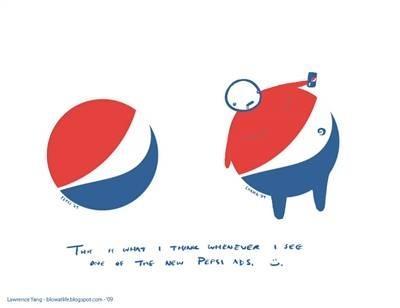pepsi izskatās kā fat guy  Autors: chesterfields logo pārsteigumi