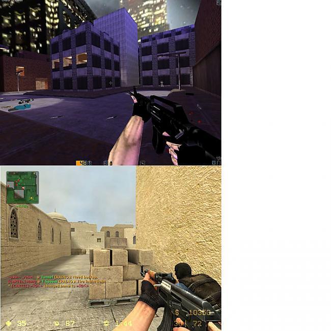 3 COUNTER STRIKE 11  COUNTER... Autors: evanti Spēles pirms un pēc vairākiem gadiem.