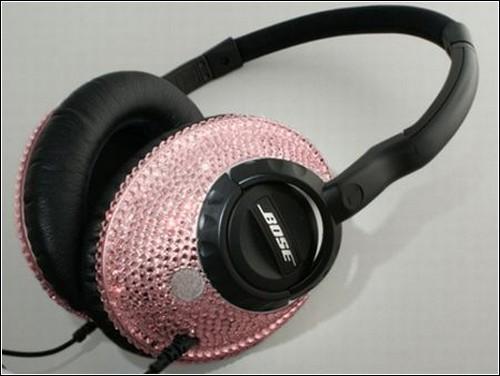 Austiņas Bose ar rozā... Autors: OverDose SWAROVSKI aksesuāru top 8