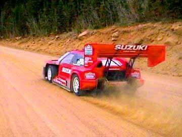 Escudo Autors: arviz Suzuki Escudo. Pikes Peak