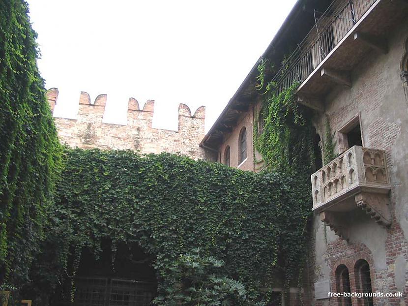 Šis ir Džuljetas balkoniņš... Autors: Horneta Romeo & Džuljeta