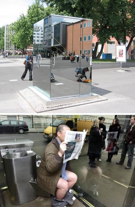 Ļoti interesanta sabiedriskā... Autors: carlsberg pasaules interesantākās tualetes