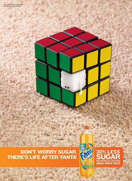 Fanta ar samazinātu cukura... Autors: MataHari Kreatīvas reklāmas!
