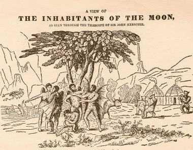 Loks uzrakstīja neticamu... Autors: Fosilija The great moon hoax