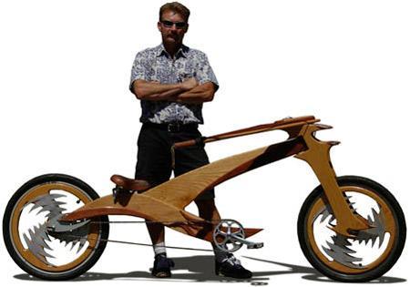 Wooden Bike This is the newest... Autors: Booyakah Izstradajumi no koka
