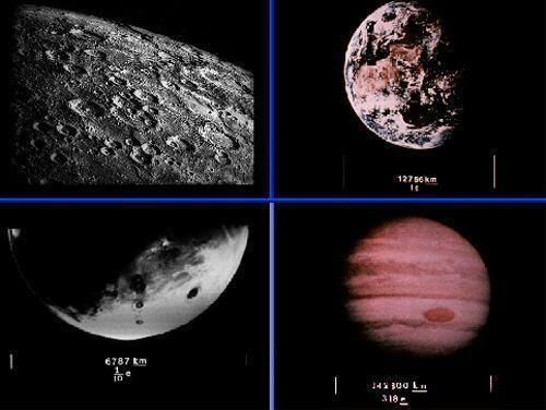Merkurija Zemes Jupitera un... Autors: ainiss13 Kosmosā nosūtīts ziņojums citplanētiešiem