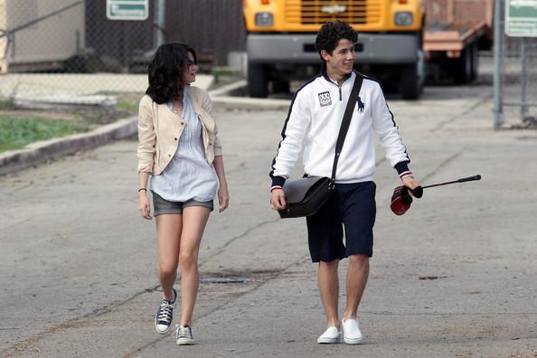 Selena Gomez un Nick Jonas Autors: princeSS /Kuras slavenības 2010 gadā izšķīrušās?/