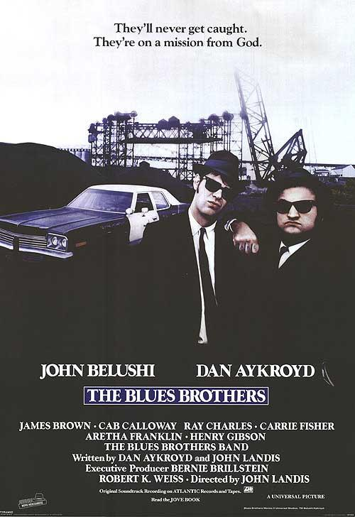 The Blues Brothers1980Brāļi... Autors: Pirāts 20. gs labākās filmas!