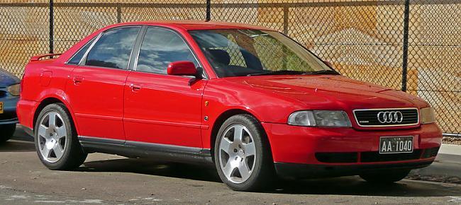 Audi A4 pirmo reizi parādījās... Autors: GET MONEY Pāris labi automobiļi 2 daļa