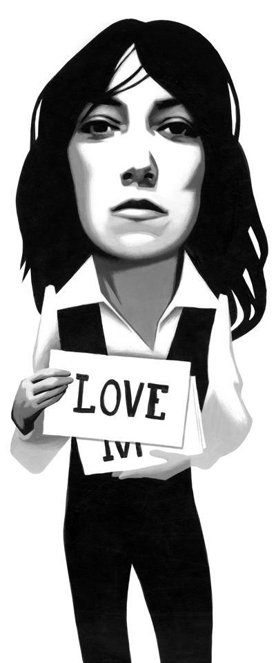 Patti Smith on Dylan039s love... Autors: Krekeris Ilustrācijas
