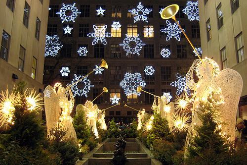 Ņujorka  Rokfellera centrs... Autors: tavs drafks Ziemassvētku sajūtas.