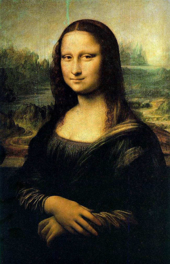 Visiem zināma glezna... Autors: Fosilija Leonardo da Vinči