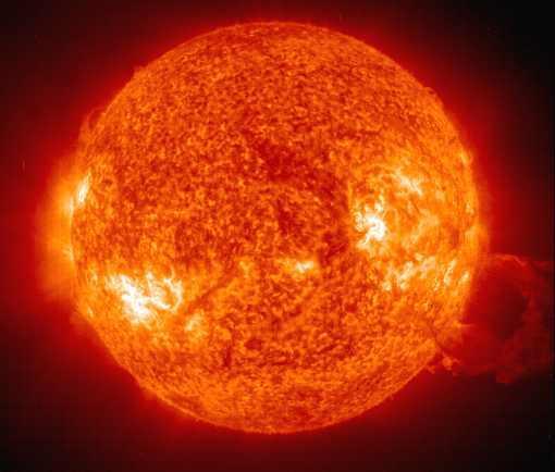 Autors: Kēksiņš Spēcīgs uzliesmojums uz saules
