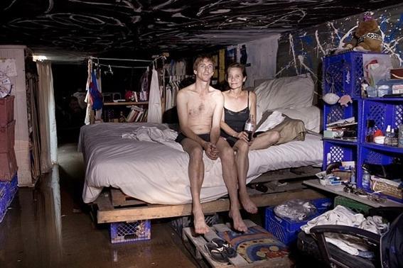 Daži kā piemēram Stīvens... Autors: MONTANNA Cilvēki dzīvo Lasvegasas pazemes tuneļos