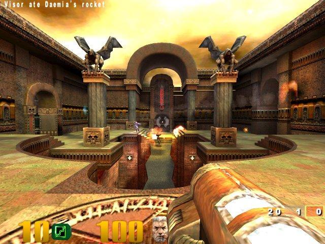 Quake Arena Nereālistiska... Autors: TheMephestopheles Immortal PC games. Ar zemām sistēmas prasībām.