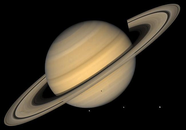 Saturns Saturna gredzeni nav... Autors: DonPedro interesanti fakti par Saules sistēmu