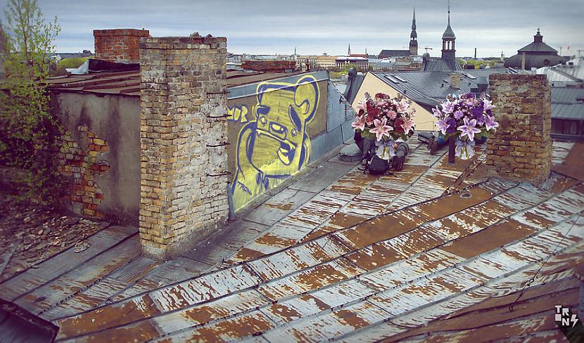 Tron  Graffiti zīmētājs ar... Autors: Ruudiiz Rīgas Populārākie Graffiti Zīmētāji 2