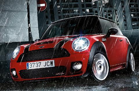 9 VIETA  MINI CooperSākotnēji... Autors: MONTANNA Top 10 labākās ziemas mašīnas
