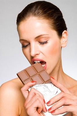 Ja katru dienu apēd 50 g tīras... Autors: manadvesele Fakti par šokolādi.