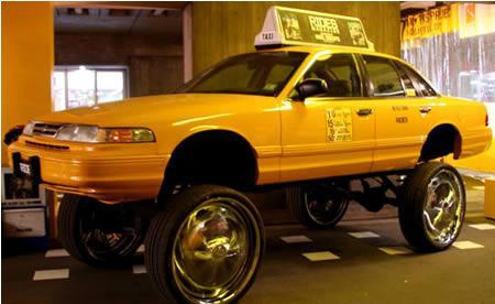 Šis taksis ir atzīts par... Autors: Fosilija Krutākie takši pasaulē.