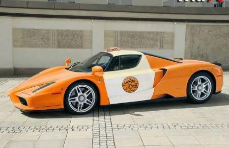 Aplūkojat Ferrari Enzo sporta... Autors: Fosilija Krutākie takši pasaulē.