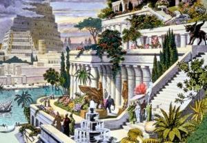 2 Semiramīdas gaisa dārziKā... Autors: lacukstedy 7 pasaules brīnumi