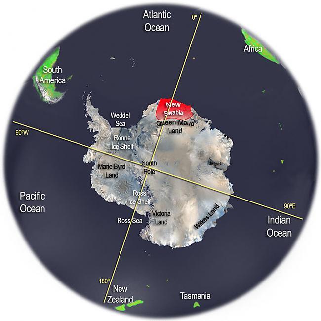 Vācieši Antarktīdas apguvi... Autors: AndOne Šokējoša teorija.