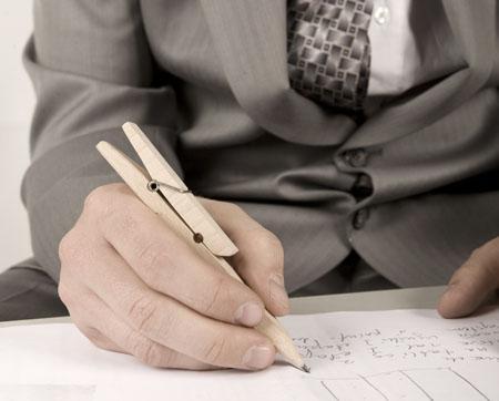 Knaģis var būt arī zīmulisnbsp Autors: GargantijA Ģeniālais izgudrojums- knaģis.