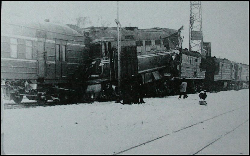 Lielākā pasažieru vilcienu... Autors: artuu Gadsimta katastrofas Latvijā.
