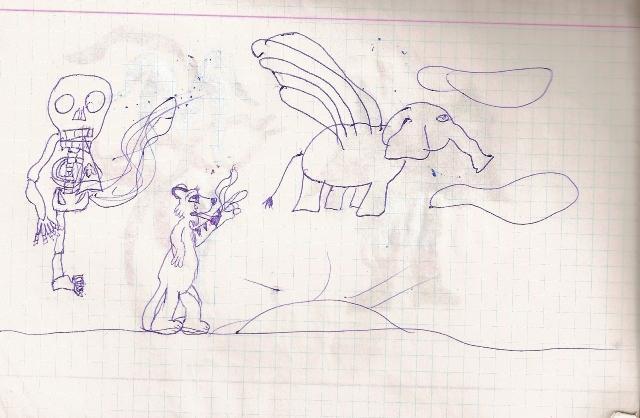 Agrīnais periods pats sākums D... Autors: Dīvainis Vai var iemācīties zīmēt?