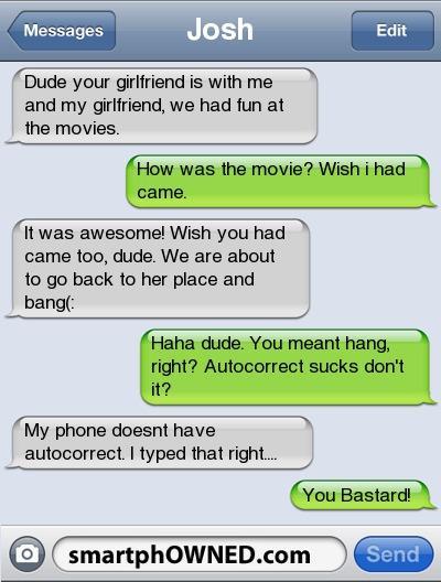 Autors: damanto Fail Autocorrects and Awkward Parent Texts